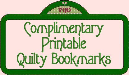 Free Printable Quilty Bookmarks from Victoriana Quilt Designs : quilt posters - Adamdwight.com