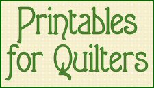 Printables for Quilters