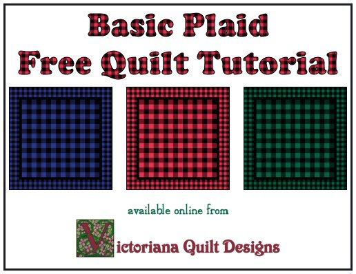 Basic Plaid Free Quilt Tutorial