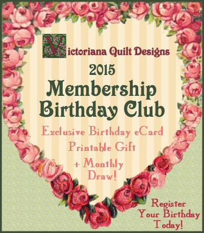 2015 Membership Birthday Club