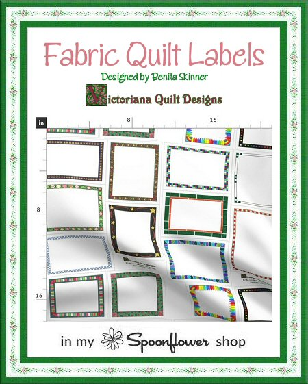 Fabric Quilt Labels