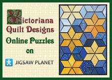 Victoriana Quilt Designs Online Quilt Puzzles at Jigsaw Planet