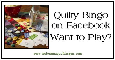 Quilty Bingo on Facebook - Want to Play?