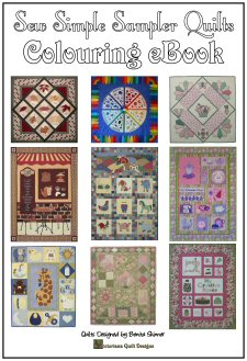 Quilt Adult Colouring eBooks