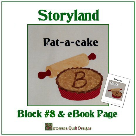 Storyland Children's Qult Pattern & Companion Book