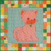 Pet Stuffies - Calico the Cat Baby Quilt Pattern
