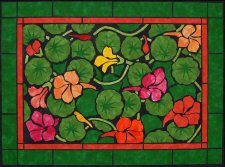 Garden Jewels Quilt Pattern