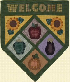 Homespun Harvest Welcome Quilt Pattern