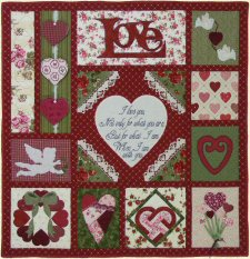 How Do I Love Thee... Quilt Pattern