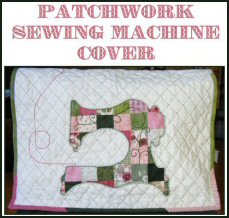 Patchwork Sewing Machine Cover Quilt Pattern