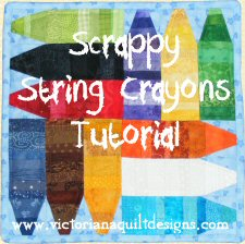 Scrappy String Crayons Free Tutorial
