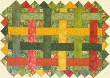 Table Toppers Quilt Pattern
