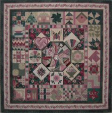 The Sampler - 2015 Member's Stitch Along Pattern Series