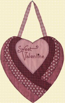 Valentine Hugs Mini Quilt Pattern