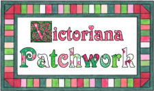 Victoriana Patchwork Fabric @ Spoonflower