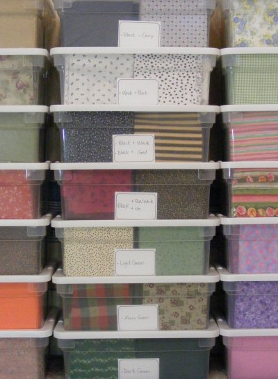 Fabric Collecting Amp Storage Ideas Amp A Fat Quarter Star How