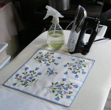 Vintage Hankie Butterfly Block Quilt Pattern Tutorial from ... : handkerchief quilts instructions - Adamdwight.com