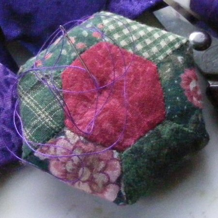 Hexie Hexagon Pincushion