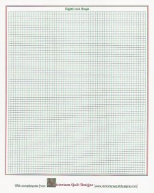 Quilt Patterns On Graph Paper : Victoriana Quilt Designs Printable Quilt Graph Papers for Designing Your Quilts