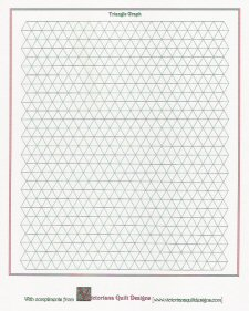 Quilt Patterns On Graph Paper : TRIANGLE QUILTING PATTERNS FREE Quilt Pattern
