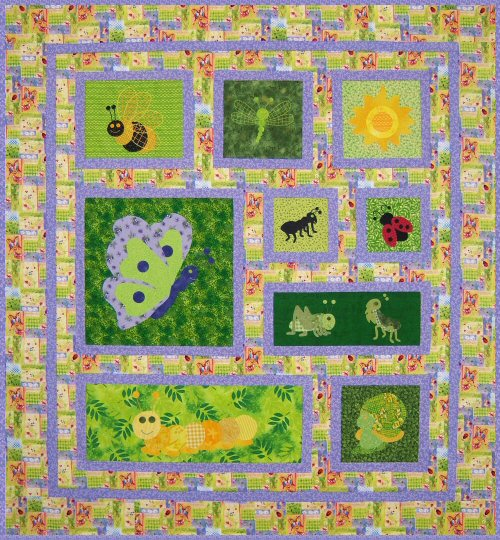 Baby Bugs Quilt Pattern : bug quilt - Adamdwight.com