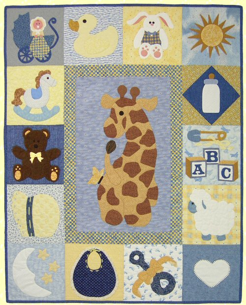 Baby Sampler Quilt Pattern