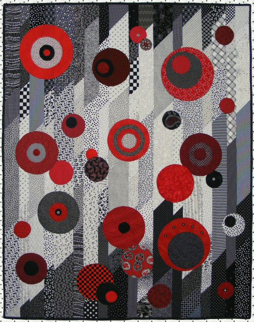 quilt size 50 x 65 this quick easy quilt pattern is quite dramatic and