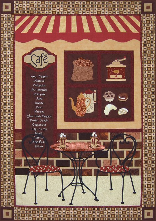 Coffee Caf 233 Quilt Pattern