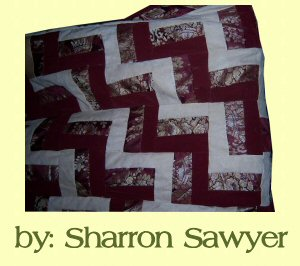 Rail Fence Quilt Patterns - Free 6 Inch Rail Fence Block