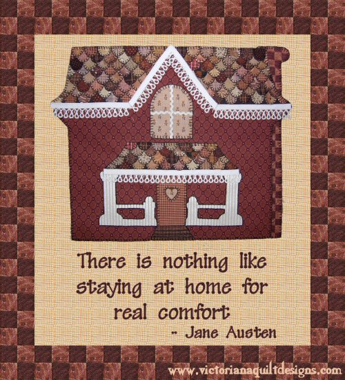 There Is Nothing Like Home Quotes: Ginger Folk Quilt Pattern