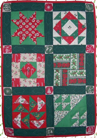 Scrap Sampler Quilt - The Quilter's Cache - Marcia Hohn's free
