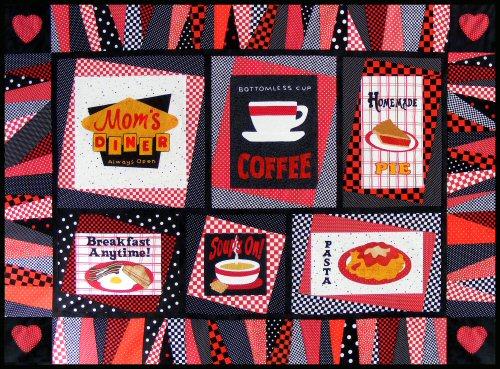 Mom s Diner Quilt Pattern - 2013 Members Series