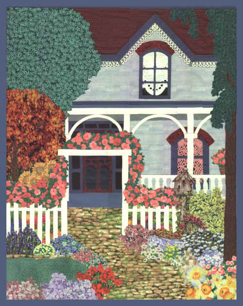 My English Garden Quilt Pattern