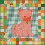Calico the Cat Baby Quilt Pattern