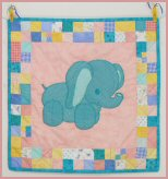 Ellie the Elephant Baby Quilt Pattern