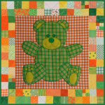 Teddy the Bear Baby Quilt Pattern