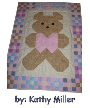 Patches Teddy Bear Baby Quilt Pattern Pictures