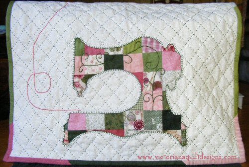 Patchwork Sewing Machine Cover Pattern Delectable Sewing Machine Cover Patterns