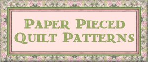 Foundation Paper Piecing Scrap Quilt Patterns Free