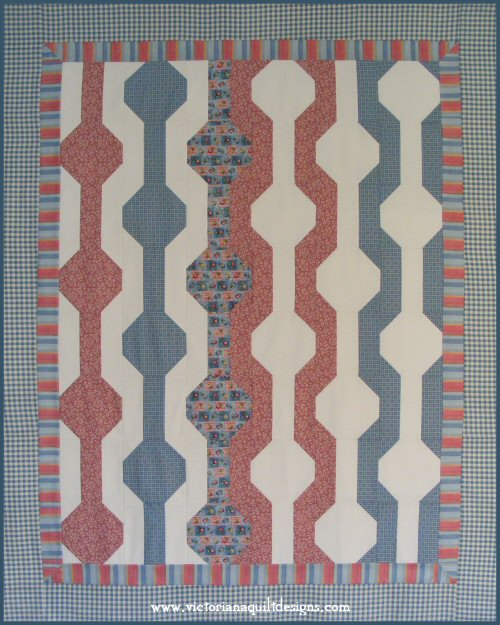 Beginner S Pearls Amp Lace Quilt Pattern Amp Companion