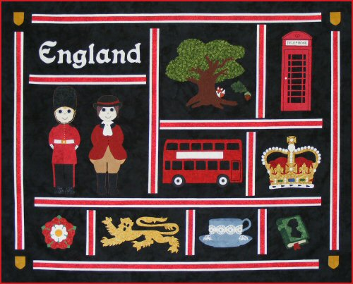 Postcards From England Quilt Pattern
