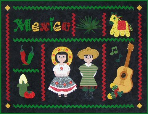 Postcards From Mexico Quilt