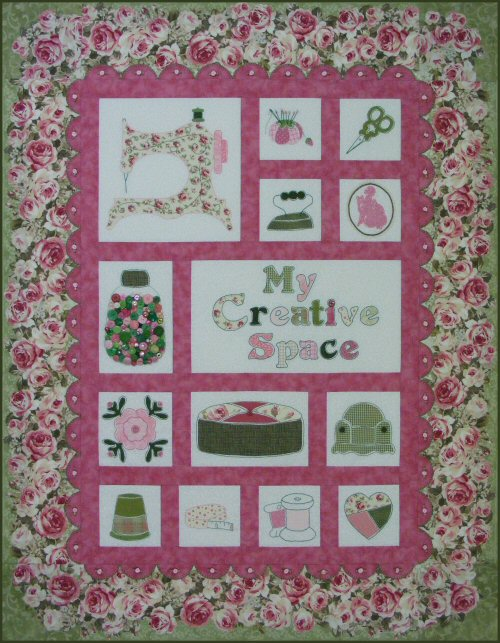 Rose Cottage A Sewing Room Quilt Pattern