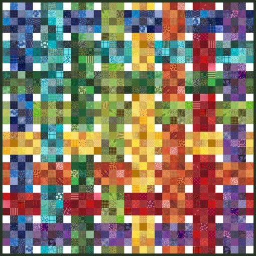 Scrap Happy Quilt Pattern