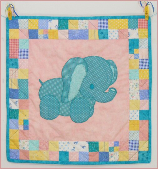 Ellie the Elephant Baby Quilt Pattern : elephant quilt patterns - Adamdwight.com