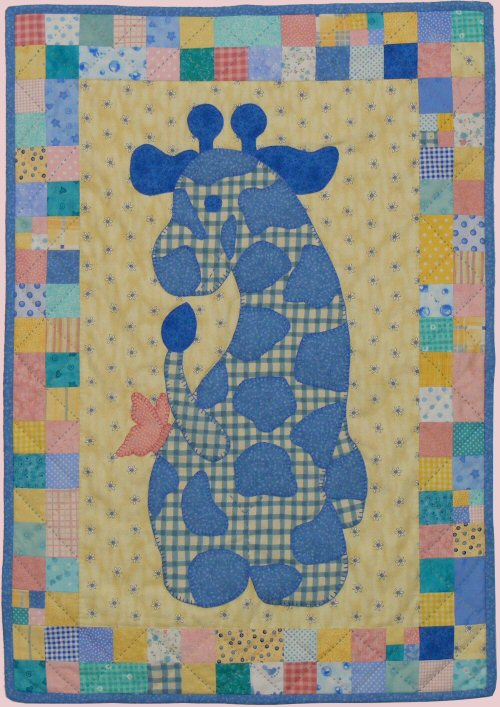stuffies gerome the giraffe baby quilt pattern