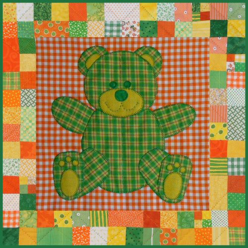 Stuffies Teddy the Bear Baby Quilt Pattern : bear quilt patterns - Adamdwight.com