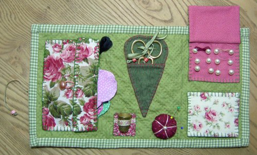 Book Cover Sewing Kit : Victoriana sewing kit pattern