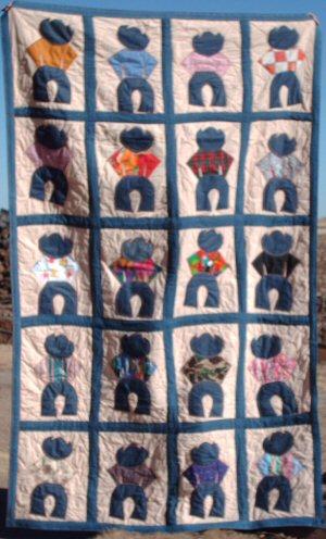 cowboy quilt pattern | eBay - Electronics, Cars, Fashion