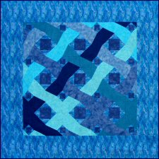 Ocean Waves Version 1 Storm at Sea Quilt Pattern